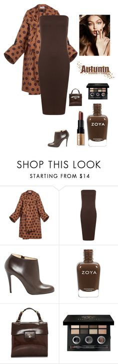 """""""Fall Coats"""" by kotnourka ❤ liked on Polyvore featuring Loewe, WearAll, Christian Louboutin, Maybelline, Prada and Bobbi Brown Cosmetics"""