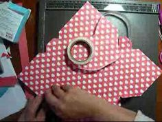 Video demonstrating the use of the new Simply Scored Diagonal Scoring Plate in making an envelope style card box