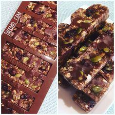 Raw Healthy Snack Bars (Nut-Free) by McDreamSteam on www.recipecommunity.com.au