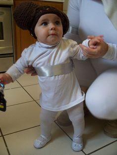Real Kids Best Baby Halloween Costumes | Baby halloween costumes Kid and Halloween costumes  sc 1 st  Pinterest : child leia costume - Germanpascual.Com