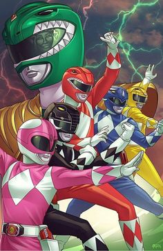 Leave a down below if you want a Green With Evil animated movie! Art by Go Go Power Rangers, Todos Os Power Rangers, Power Rangers Tattoo, Desenho Do Power Rangers, Power Rangers Poster, Power Rangers Comic, Mighty Morphin Power Rangers, Power Rengers, Power Ranger Party