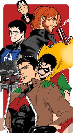 The many faces of Jason. My fav is the brown jacket with a white streak in his hair. Jason Todd Robin, Red Hood Jason Todd, Jason Jason, Jason White, Batman Y Superman, Batman Robin, Dc Comics, The Flashpoint, Bat Boys