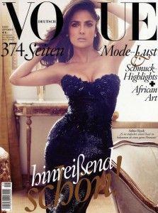 Salma Hayek Photos by Alexi Lubomirski for Vogue Germany
