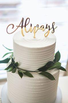 45 Simple Elegant Chic Wedding Cakes