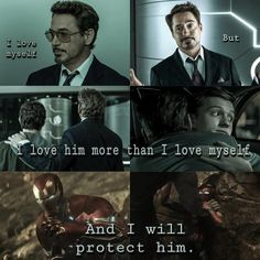 This relationship is so cute that needs to happen even if Tony screws up like all the freaking time man.