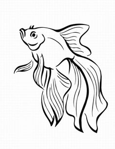 fish coloring Pages | Printable coloring pages of fish pictures 2