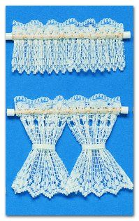 Dollhouse Lace Curtains