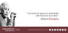 Albert Einstein. Sobre la mente.