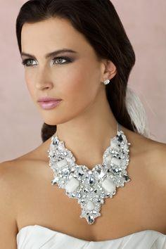 5e55456d69 Oversized wedding jewelry Girls Jewelry