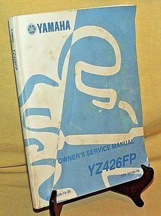 Yamaha mt 07 owners manual enpdf motorcycles pinterest yamaha yz owners service manual motorcycle dirt bike 1st ed jul 2001 yz426fp fandeluxe Gallery