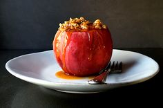 Oatmeal Cider Baked Apples | A Local Choice