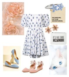 """""""dress for spring"""" by ilze-s on Polyvore featuring Caroline Constas, Madewell, Nila Anthony, Talbots and Van Cleef & Arpels"""