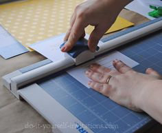 Some good tips for DIY wedding invitations and printing.  Helpful and practical!