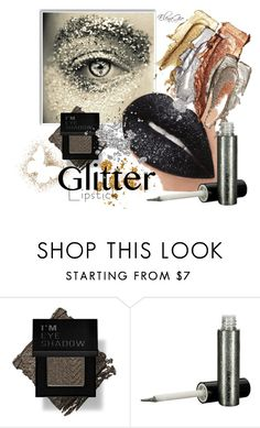 """""""glitter"""" by elenagio ❤ liked on Polyvore featuring beauty and Forever 21"""