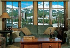 How would you like to wake up to this view every day? Breckenridge, Colorado...lovin' it~