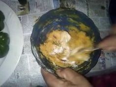 capsicum filled with gram flour बेसन से भरवा शिमला मिर्च कैसे बनाए Gram Flour, Pudding, Puddings, Avocado Pudding