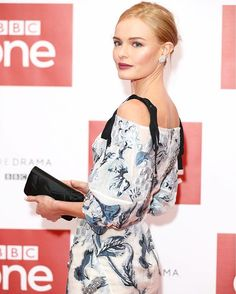 Kate Bosworth looking stunning in @erdemlondon at the premiere of her new series SS-GB  Getty Images  via INSTYLE AUSTRALIA MAGAZINE OFFICIAL INSTAGRAM - Fashion Campaigns  Haute Couture  Advertising  Editorial Photography  Magazine Cover Designs  Supermodels  Runway Models