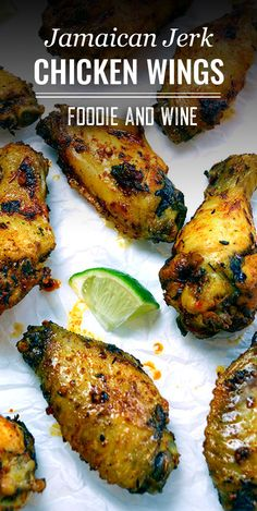 Jerk Seasoning Recipe, Jamaican Jerk Seasoning, Chicken Seasoning, Jerk Chicken Wings, Air Fryer Chicken Wings, Air Fryer Dinner Recipes, Appetizer Recipes, Party Appetizers, Jamaican Chicken