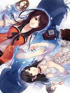Hisoka & Yuri & Miu & Miku | Fatal Frame V #game #illustration