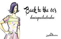 BACK TO THE 60'S ALS #DOMINGOSILUSTRADOS.   Les Antònies