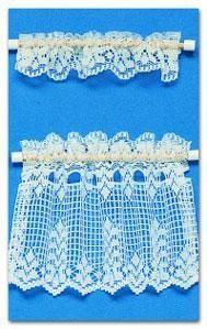 Curtain+Lace+Cafe+-+Ecru+|+Mary's+Dollhouse+Miniatures