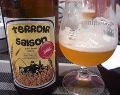 Cerveja Brix Terroir Saison, estilo American Pale Ale, produzida por  Cervejaria Caseira, Brasil. 6% ABV de álcool.