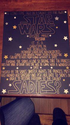 Sadies proposal! #sadies #starwars