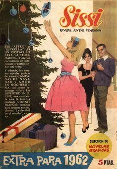 Sissi, novelas gráficas.Extra para 1962