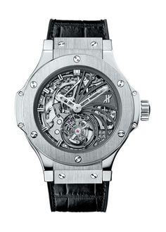 Big Bang Minute Repeater Tourbillon Platinium 44mm Complicated watch from Hublot
