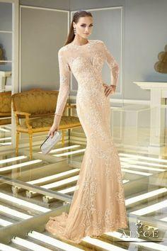 "Mis Queridas Fashionistas: Glamour with ""Claudine"" for Alyce Paris Spring 2014"