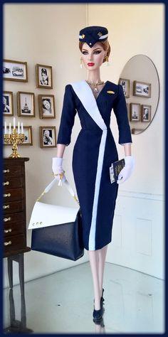 "OOAK Fashions for Silkstone / 12"" Fashion Royalty / Vintage barbie --With Zipper | eBay"
