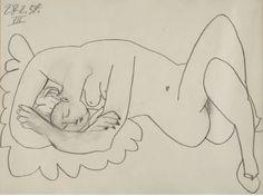 Nu couché - 1947 Pablo Picasso