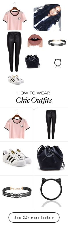 """Look casual"" by dudafernandes210 on Polyvore featuring adidas Originals, Lacoste, Humble Chic and Kate Spade"