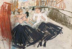 George Hendrik Breitner, Amsterdams housemaids