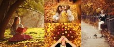 Осенние фотосессии в студии с декорациями или на природе от 1500 руб…