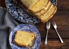 Granadilla and lemon Loaf cake