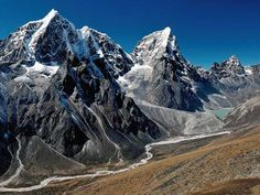 O Parque Nacional de Sagarmatha, no Nepal, está ameaçado pelo aquecimento global