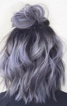 36 Gray Silver Ombre Hair Color Ideas for Attention-Grabbing Gals Hair-Nails Sty. - 36 Gray Silver Ombre Hair Color Ideas for Attention-Grabbing Gals Hair-Nails Style - Hair Dye Colors, Ombre Hair Color, Hair Color Balayage, Ash Ombre, Blue Ombre, Red Purple, Brown Balayage, Trendy Hair Colors, Brown To Grey Ombre