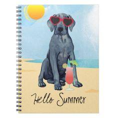 Summer Great Dane Notebook   pug party, pug socks, pug puppies funny #christmascountdown #mypeoplearebetterthenyourpeople #myfriendloveme Cute Pug Puppies, Cute Pugs, Beagle Dog, Boxer Dogs, Australian Cattle Dog, Australian Shepherd, Border Collie, Pug Wallpaper, Pug Pillow