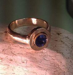 Gold ring 14k - Patina