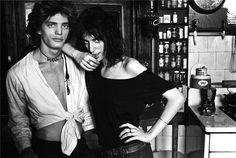 Robert Mapplethorpe & Patti Smith, NYC 1969 by Norman Seeff