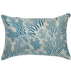 Meriheinä cushion cover 40x60 cm, turquoise, by Marimekko.