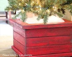 Diy Christmas Tree Stand Front Porches Ideas For 2019 Christmas Tree Box Stand, Diy Christmas Tree, Merry Little Christmas, Christmas Projects, All Things Christmas, Winter Christmas, Christmas Decorations, Holiday Decor, Christmas Ideas