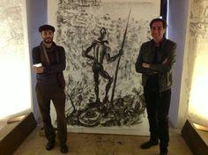 #invasionecompiuta con successo anche grazie ai due talentuosi artisti  #invasionedigitali #siciliainvasa #laculturasiamonoi #vocioutallosteri #igerspalermo #museiunipa # serviziocivilenazionale