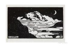The Jungfrau, 1892 Giclee Print