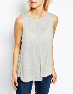 Image 3 of ASOS Swing Vest With Drape 2 Pack Save 10%