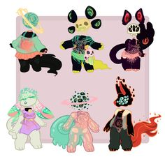 Each adopt is a difference price, and I am up for other offers but money is preferred! Adopts in Order:1 2 34 5 6 1.HotDogeBuns 2.rottenstarboy 3.Astral-Athenaeum&nbsp...
