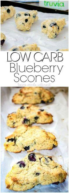 Grain-free Blueberry Scones