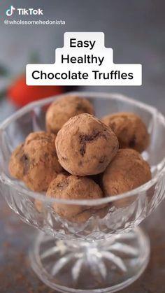 Fun Baking Recipes, Sweets Recipes, Snack Recipes, Yummy Snacks, Yummy Food, Deli Food, Healthy Chocolate, Nutella, Healthy Desserts