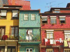 yellow portuguese houses - Google zoeken